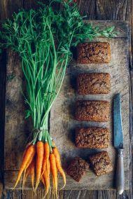 Pastel de frutas o verduras: snack saludable