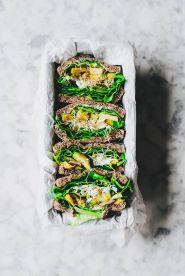 Sandwich vegetal: un snack saludable
