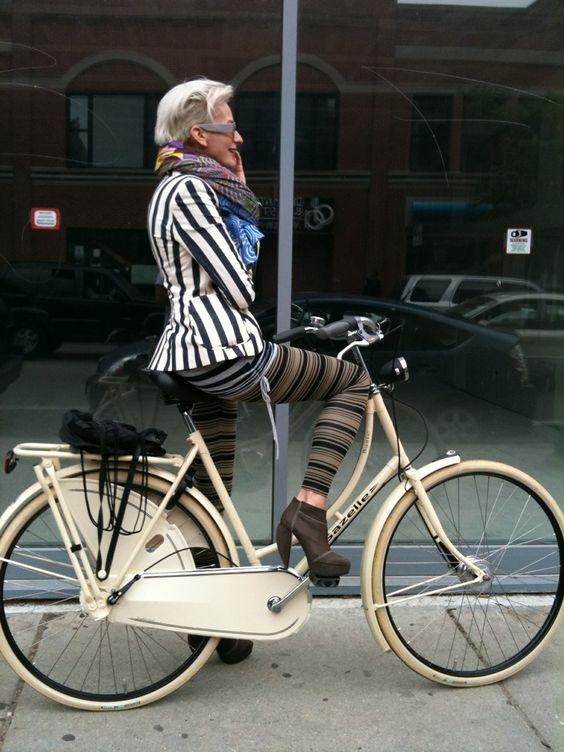 Quema calorías montando en bici a cualquier parte