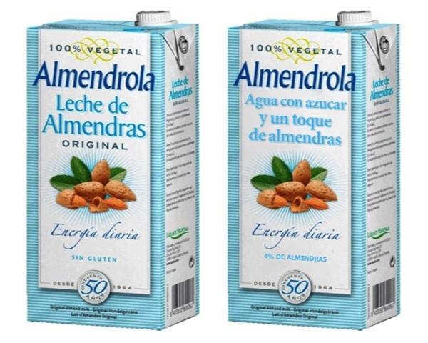 Contenido real de la leche de almendras